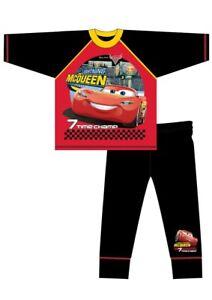 Cars Pyjamas Boys Kids Children's Nightwear PJs 4 to 10 Years Lightening McQueen