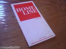 Catalogue de modeles HOME LINE Gennaio 99 mobili d'autore POLTRONE ET DIVANI