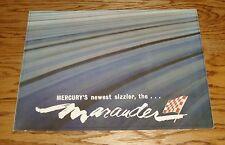 Original 1963 Mercury Marauder Sales Brochure 63