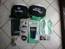Job Lot Guinness Pub Bar Give Aways Rugby World Cup St.Patrick's Night etc