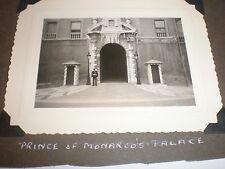 Old Photo Prince of Monaco Palace c1952