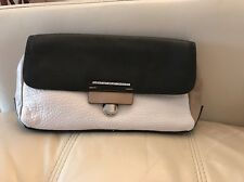 MARC JACOBS Black Multicolor Handbag Clutch MSRP $328