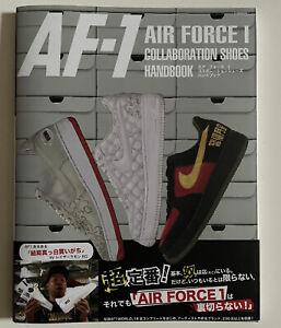 NIKE AIR FORCE 1 ONE SNEAKER COLLABORATION HANDBOOK JAPAN BOOK NEW