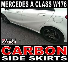 Mercedes A Class W176 AMG Carbon Side Skirts Set A250 A45