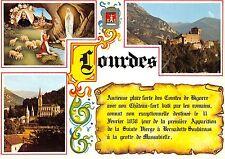 B31300 Lourdes The Apparition the Castle The Basilica  france