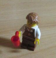 Lego City 1 Coffee Shop Mitarbeiterin mit Kaffeemaschine