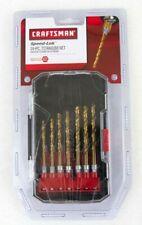 """Craftsman 14 piece Titanium Drill Bit Set 1/4"""" Shank hex 64314"""