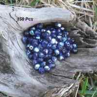 150 Perles de bohème facette 5 mm Tchèque coloris Purple Velvet AB