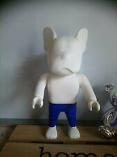 Statuette figurine bulldog dog blanc jeans Jack & Jones 24 cm etat neuf