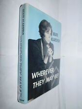 Wherever They May Be! Beate Klarsfeld HB 1975 biography of WW2 nazi hunter and