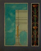 Architecture - Columns and Capitals - Historicism Gründerzeit Antique - Empire