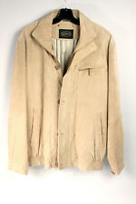 Lederjacke beige festes Leder Gr. 52 JCC collection