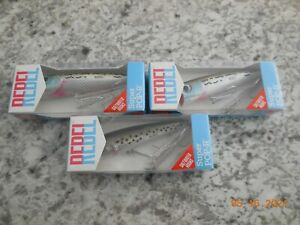 3 Rebel  Super Pop R Fishing   Speckled Trout & Barfish Lures,