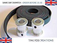 GT2 10mm Timing Belt and Pulleys 20 Teeth 8mm Shaft CNC Reprap 3d printer part