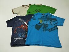 4 Quicksilver Old Navy Marvel Piece Boys Size 6-8 Tee Shirt Lot Good Condition