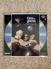 Erik The Viking Laserdisc - Tim Robbins - RARE