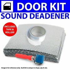 Heat & Sound Deadener Early Cars 1928 - 32 2Dr Kit + Seam Tape, Roller 4128Cm2