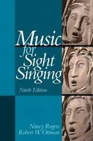 Music for Sight Singing by Robert W. Ottman and Nancy Rogers (2013, Spiral)