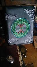 Arbre de vie celtique en cuir synthétique couverts pour reliure à anneaux / Bos-Wiccan / Pagan / sorcière