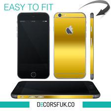 iPhone 6 skin gold - apple skin vinyl - iphone 6 sticker / iphone 6 decals