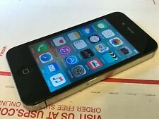 Apple iPhone 4s - 32GB - Black (Unlocked GSM) A1387 - Good Condition - Works