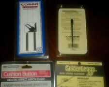 Archery Accessories - Cobra Starlite Pin & Pronghorns, Cushion Button,Silencer