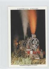1992 Wills Castella Cigars In Search of Steam #14 Yorkshire Engine Co 2-6-0 1i3