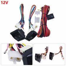 Professional Car Auto Power Window Switch With 12V Wiring Harness Kits