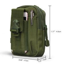Tactical O.D. Green Molle Pouch Compact EDC Utility Bag