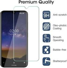 For Nokia 1.3, TOUGH, Clear 9H Tempered Glass Screen Guard Protector (Pack Of 5)