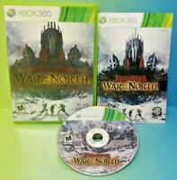 Lord of Rings War in The North -  Microsoft Xbox 360 Rare Complete Game Tested