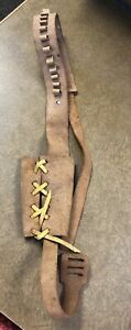 Mattel Shootin Shell Cowhide Holster with Bullet Holders