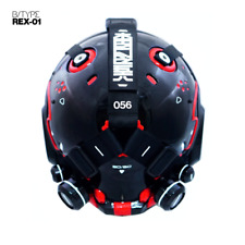 Machine56 Machine 56 Robot Motorcycle Helmet Limited edition  B-Type Rex 01