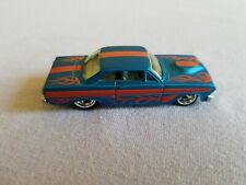 2012 Hot Wheels Boulevard 64 FORD FALCON SPRINT Blue LOOSE