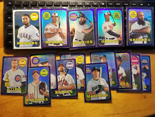 2018 Topps Heritage Chrome/refractor/Purple Ref. fill your set, you pick choice