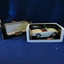 Burago 1/18 Diecast 3010 Lancia Aurelia B24 Spider 1955 Flat Cream Model Car