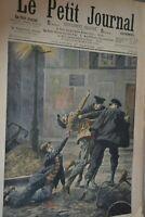 Supplément illustré Le Petit Journal N°845 / 27-1-1907 / Moeurs d'Apaches