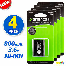 3.6V Ni-MH AAA 800mAh 1.2V 3-Cell Rechargeable Batteries 4-Pack