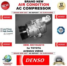 DENSO AIR CONDITIONING AC COMPRESSOR OEM: 8831044210 for TOYOTA AVENSIS VERSO