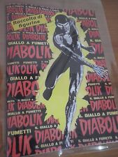 Album Diabolik  Inedito Amatoriale + Set Figurine completo