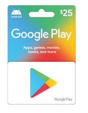 GOOGLE PLAY CARD $20 GIFT CARD free shipping