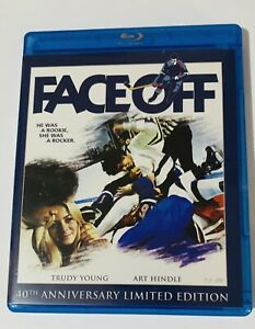 FACE OFF BLU-RAY + DVD COMBO 2011 40TH ANNIVERSARY LIMITED EDITION TRUDY YOUNG
