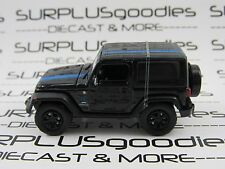 GREENLIGHT 1:64 Scale LOOSE Murdered Out Black 2010 JEEP WRANGLER MOPAR Edition