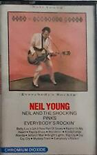 Neil Young Neil And The Shocking Pinks Everybody's Rockin' MC CASSETTE SEALED