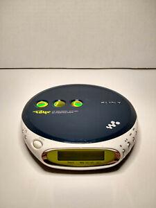 Sony D-EJ360 Psyc CD Walkman Portable CD Player G-Protection CD-R/RW WORKS!