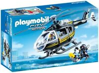 Playmobil - Tactical Unit Police: Helicopter [New Toy] Toy