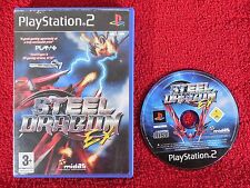 STEEL DRAGON EX - PlayStation 2 PS2 ~PAL~3+ Arcade/Space shooter