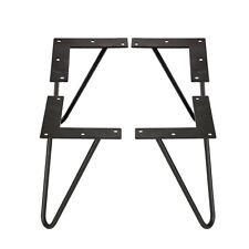 """Heavy Duty Hairpin metal Table legs 3/8"""" Dia. legs 4 legs in one set 8 Inch"""