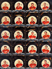 1961 62 SHIRRIFF SALADA HOCKEY COMPLETE FULL SET 120 COINS HULL HOWE PLANTE KEON