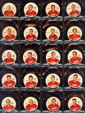 1961 62 SHIRRIFF SALADA HOCKEY COMPLETE FULL SET 120 COINS HULL HOWE PLANTE KEON